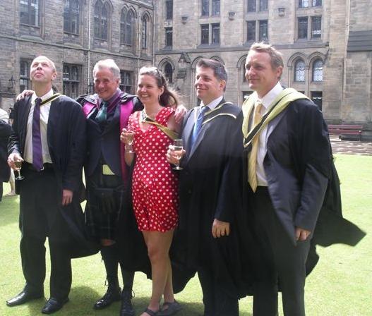 Helen on her graduation day.