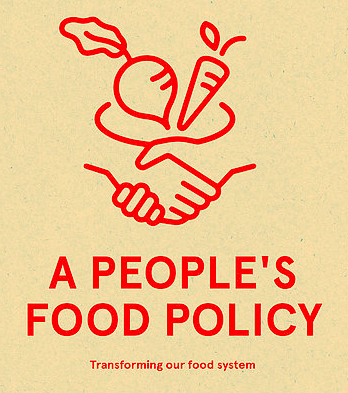 Front cover of peoples food policy