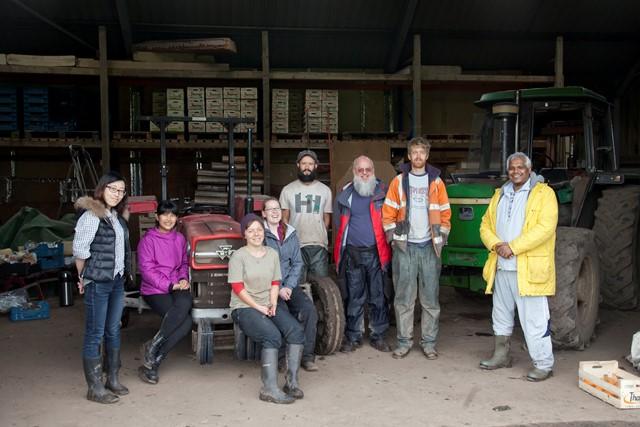 Training at Moss Brook Growers