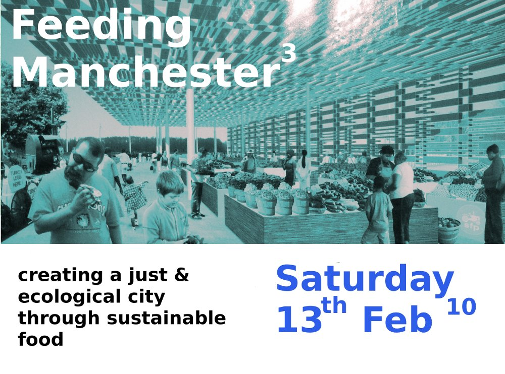 The third FeedingManchester publicity leaflet.