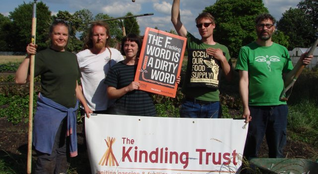 Kindling against Fracking