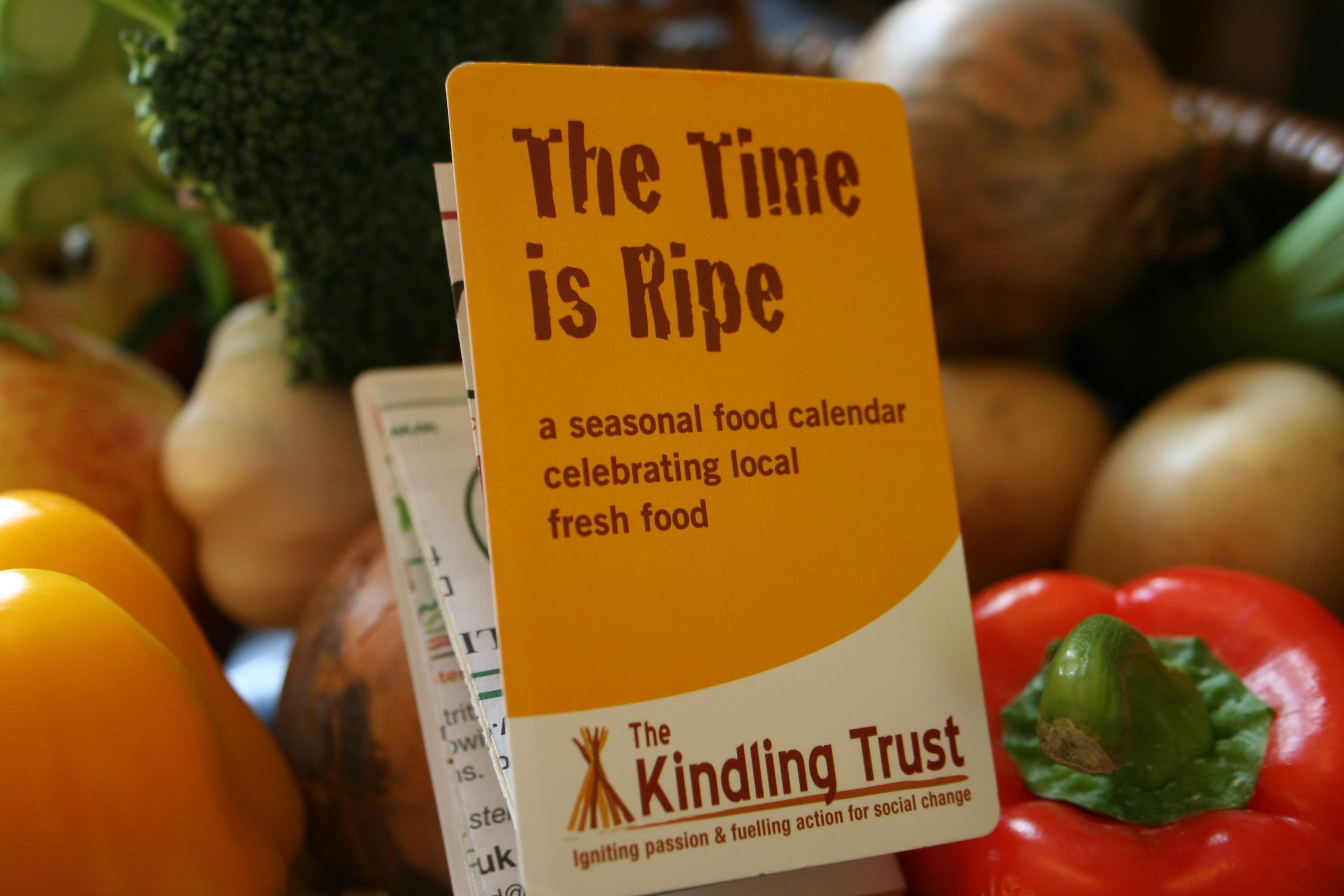The Time is Ripe seasonal food calendar.