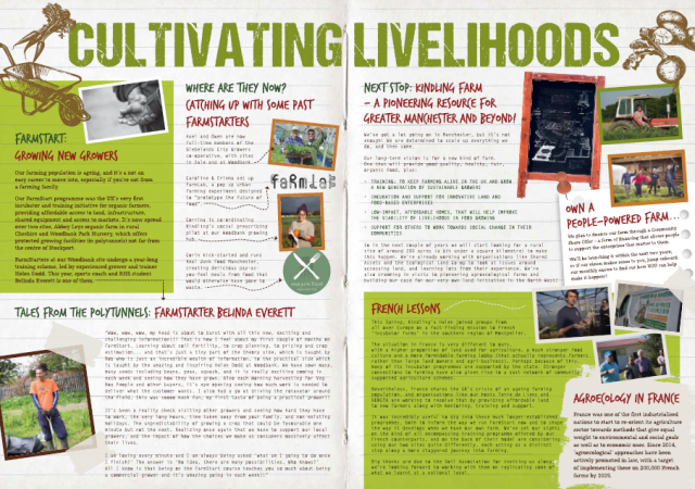Cultivating Livelihoods newsletter page