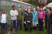 Commercial Growers Course particpants