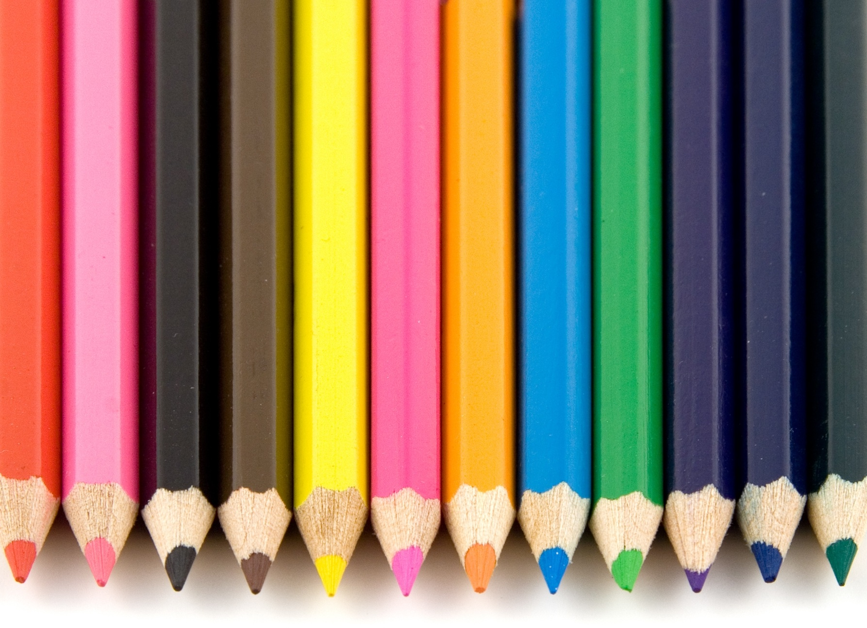 Colouring pencils - representing the many topics within Sustaining Change.